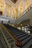 Main staircase of Russian Museum in St. Petersburg, Russia Royalty Free Stock Photography