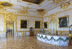 Interior of Catherine Palace Stock Photo