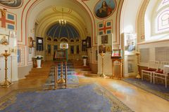 Home Church of Yusupov palace in St. Petersburg, Russia Stock Photo