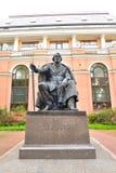 Monument of Ivan Turgenev in Saint Petersburg. Stock Image