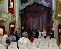 Palace theater of Yusupov palace in St. Petersburg, Russia Royalty Free Stock Image
