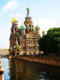 St. Petersburg, Russia, cathedral of Jesus Christ Royalty Free Stock Photography