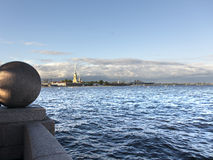 St. Petersburg, Russia. Cityscape. Royalty Free Stock Photos