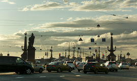 St. Petersburg, Russia. Cityscape. Stock Image