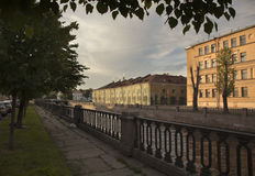 St. Petersburg, Russia. Cityscape. Royalty Free Stock Photography