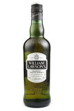 ST. PETERSBURG, RUSSIA - December 26, 2015: William Lawson`s, Blended Scotch Whisky, Scotland. William Lawson`s, Blended Scotch Whisky,  Scotland Royalty Free Stock Photo