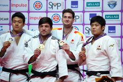 Winners of Judo World Masters 2017 Stock Photo