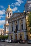St Petersburg, Russia - 4 giugno 2016: Il campanile di Vladimir Cathedral ortodosso Fotografia Stock Libera da Diritti