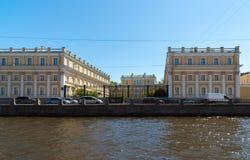 St Petersburg, Russia - 4 giugno 2017 Museo-proprietà Derzhavin Argine del fiume di Fontanka, 118 Fotografie Stock Libere da Diritti