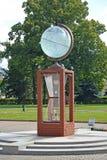 ST petersburg Russia Instalacyjna kula ziemska w terytorium muzealny kompleks wody wszechświat Obraz Royalty Free