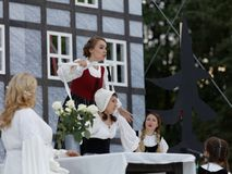 Opera The Marksman outdoors Royalty Free Stock Image