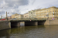 St. Petersburg, bridge Royalty Free Stock Images