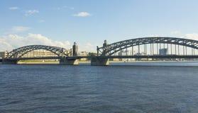 St. Petersburg, bridge on Neva Royalty Free Stock Photography