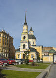 St. Petersburg, church of Anna Prophetess and Simenon Stock Photo