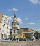 St. Petersburg, church of Anna Prophetess and St. Simenon Stock Images