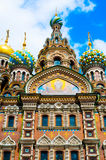 ST. PETERSBURG, RUSSIA - JULY 26, 2015: Church of the Saviour on Stock Images