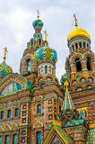 ST. PETERSBURG, RUSSIA - JULY 26, 2015: Church of the Saviour on Stock Photography