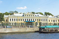 St. Petersburg, Fontan house (Palace of Sheremetyev) Royalty Free Stock Images