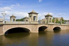 St.Petersburg, bridge Stock Image