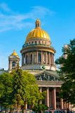ST. PETERSBURG, RUSSIA - JULY 26, 2015: St. Isaac Cathedral in S Royalty Free Stock Photos