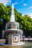 ST PETERSBURG, RUSSIThe Peterhof Palace included in the UNESCO`` Stock Images