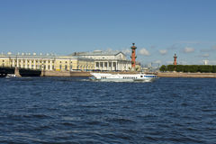 St. Petersburg, Vasilyevskiy island Royalty Free Stock Photography