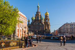 St. Petersburg, Russia - June 04.2017. The Church of Savior on the Spilled Blood Royalty Free Stock Images