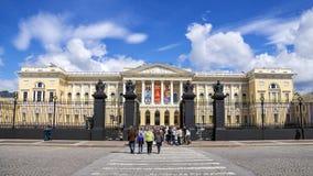 ST PETERSBURG RUSSIA-JUNE 18 Det statliga ryska museet i St P Royaltyfria Bilder