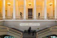 St. Petersburg, Russia - June 2 2017. Entrance to the Russian Museum of Emperor Alexander III Stock Photo