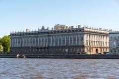 St. Petersburg, Russia - June 04. 2017. Marble palace on Dvortsovaya Embankment Stock Photo