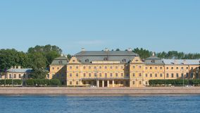 Menshikov Palace in the summer day Royalty Free Stock Photo