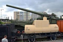 ST petersburg Russia Kolejowy wyposażenie w Środkowym muzeum linia kolejowa Zdjęcia Stock