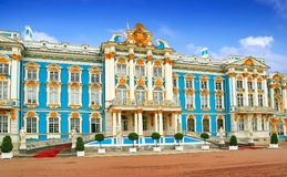 The Catherine Palace, Russia Royalty Free Stock Images
