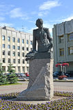 ST. PETERSBURG, RUSSIA.  Monument to the general A.A. Brusilov Stock Image