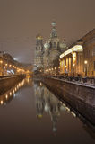 St-Petersburg, Russia at night Stock Photo