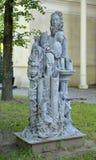 ST petersburg Russia Nowożytna parkowa rzeźba w Izmaylovsky ogródzie fotografia royalty free