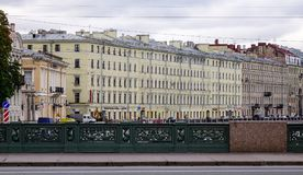 Nevsky Prospect in St. Petersburg, Russia Stock Photo