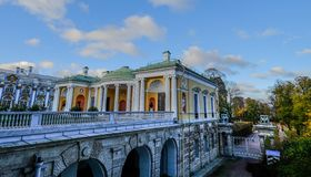 Ancient building of Catherine Palace stock image