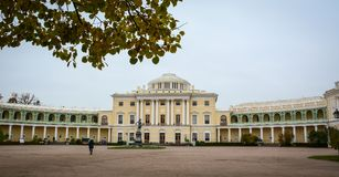 Old palace in Saint Petersburg, Russia Royalty Free Stock Photo