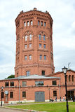 ST. PETERSBURG, RUSSIA. An old water tower - the museum World of Water of St. Petersburg Royalty Free Stock Images