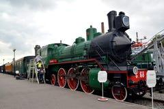 ST petersburg russia Passageraremotorn av kostnader för sida 68 på plattformen Royaltyfria Bilder