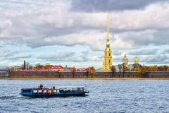 St Petersburg, Russia. Peter and Paul fortress, St Petersburg, Russia stock photography
