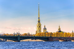 St Petersburg, Russia. Peter and Paul fortress, St Petersburg, Russia stock image
