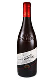 ST. PETERSBURG, RUSSIA - September 13, 2015: Bottle of Ogier Cotes du Rhone Les Caprices d`Antoine, Rhone, France, 2012 stock images