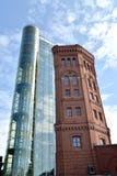 ST petersburg Russia Stara wieża ciśnień i zewnętrznie dźwignięcie kopalnia muzealny świat woda St Petersburg Zdjęcia Royalty Free