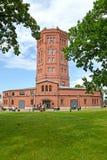 ST petersburg Russia Widok stara wieża ciśnień - muzealny świat woda St Petersburg Fotografia Royalty Free