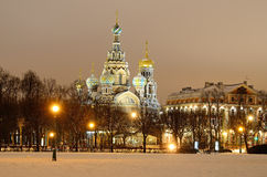 St. Petersburg, Russia in a winter Royalty Free Stock Image