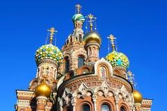St Petersburg Russie Église du sauveur sur le sang Images libres de droits