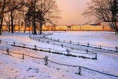 St Petersburg, Russie Photos libres de droits