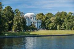 St Petersburg, Russie, août 2018 : Île d'Elagin, Elagin Palac photos stock